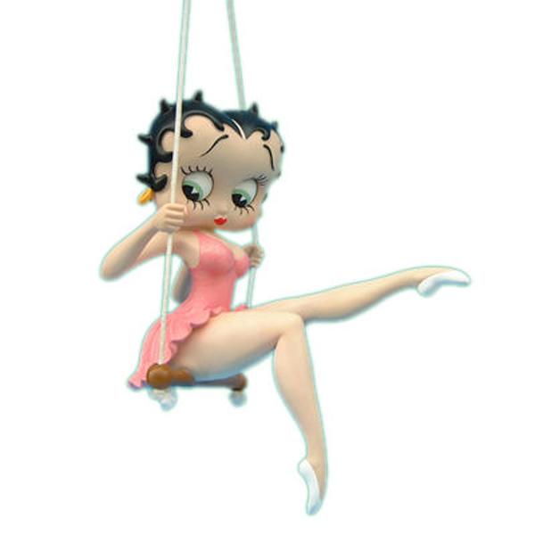 Betty Boop On A Swing Figure
