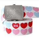 HELLO KITTY LOVE BUBBLE BELT