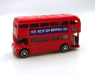 RED ROUTMASTER LONDON BUS DIE CAST  MONEY BANK