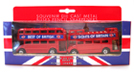 SOUVENIR DIE CAST METAL BUSES PENCIL SHARPENERS
